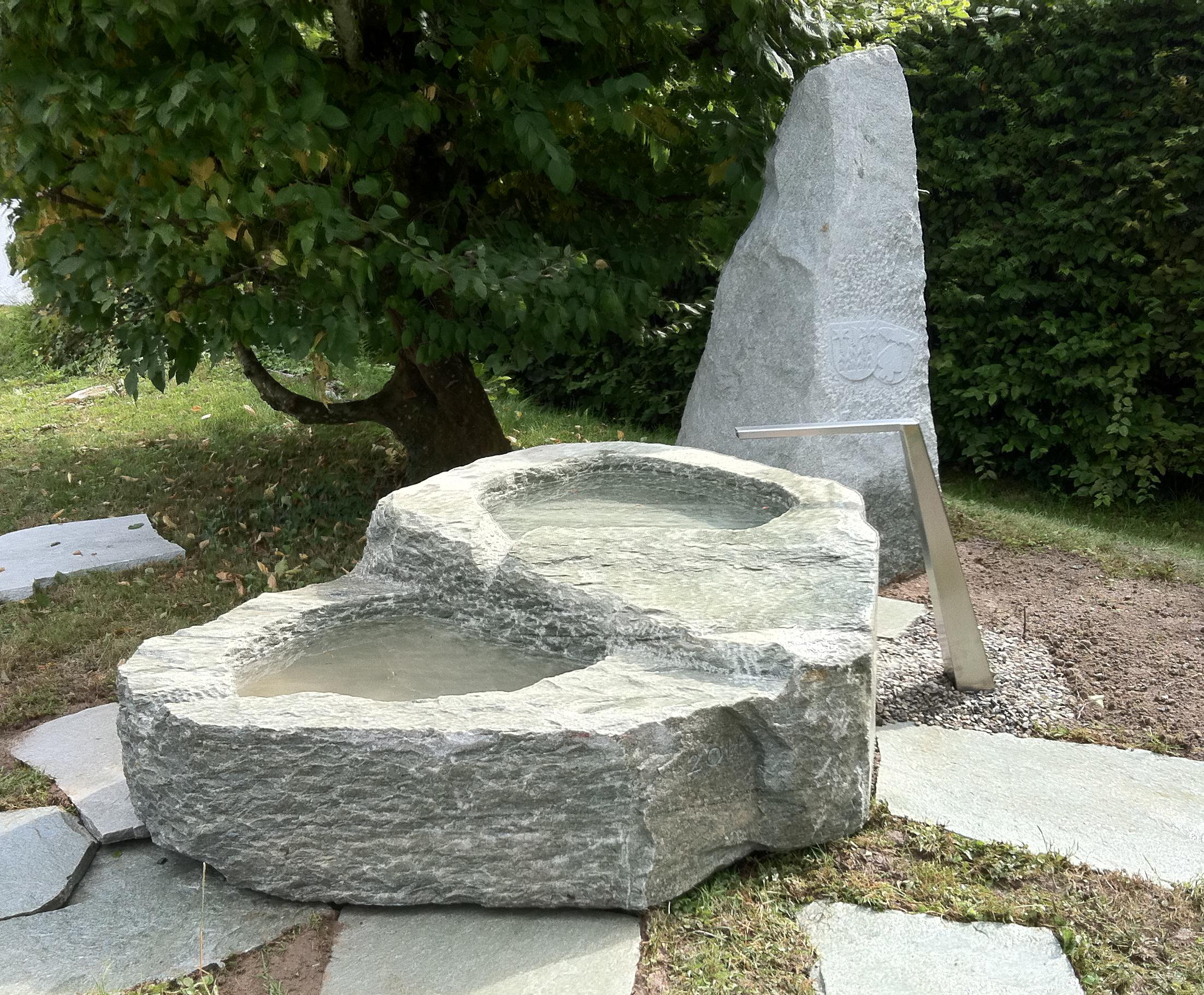 Brunnenanlage In Lüscherz