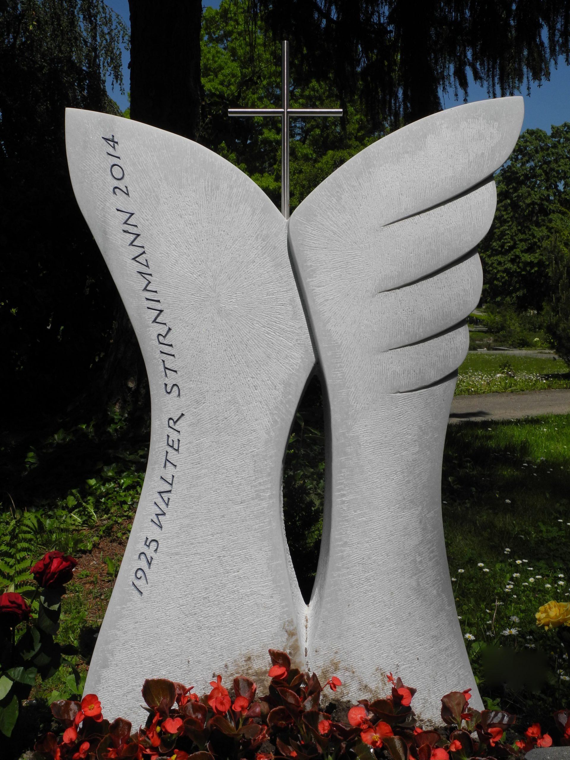 Marmor Familiengrab