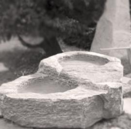 Brunnen als Einstiegsbutton