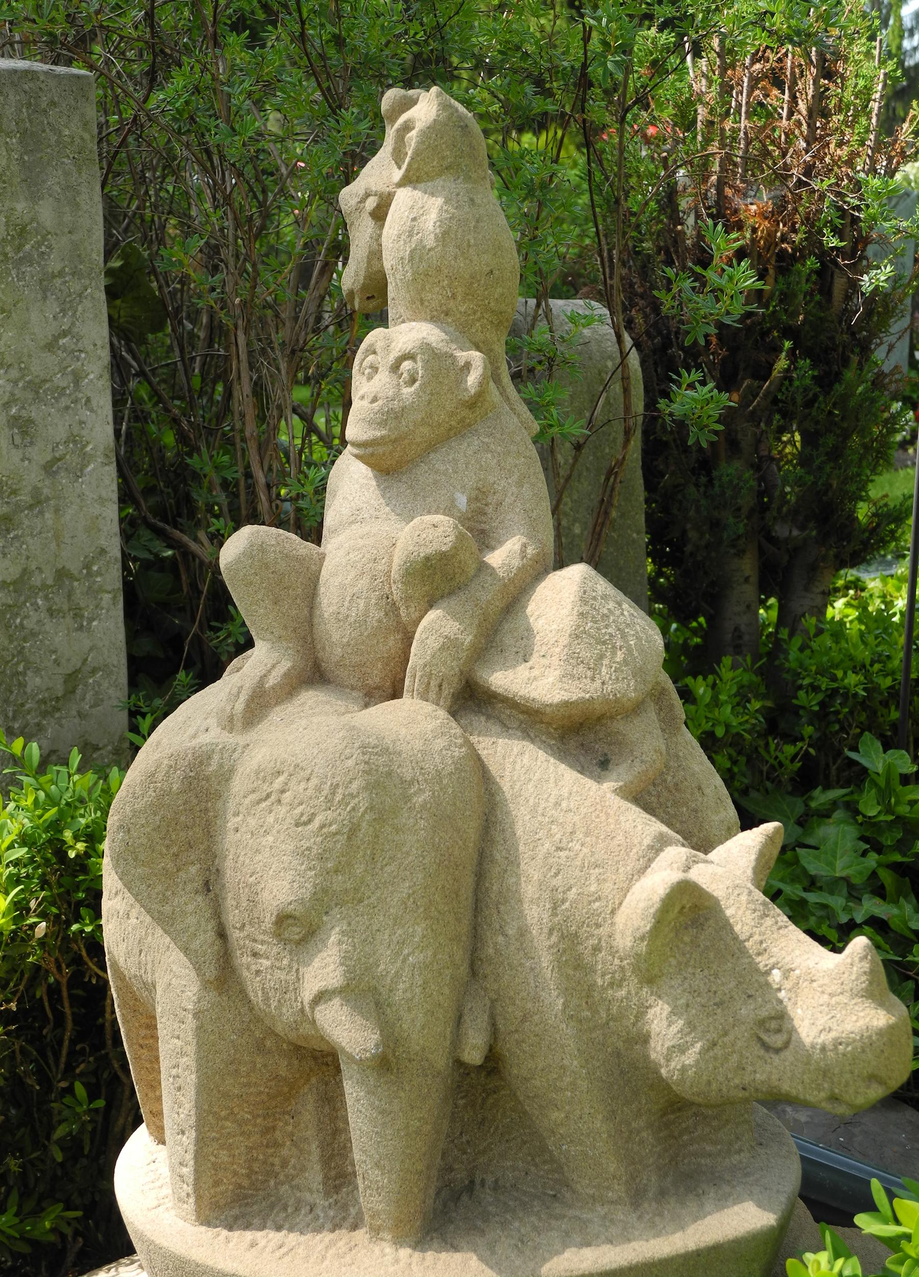 Kinder-Grabstein Arche Noah